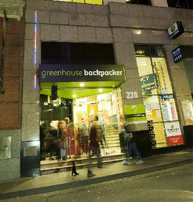 Greenhouse Backpackers