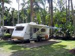 Cool Waters Holiday Park, Powered Site With Slab