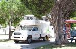 Perth Vineyards Holiday Park, Powered Site Campervan
