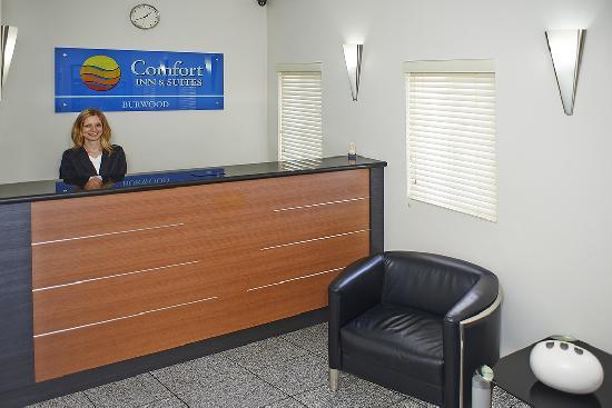 Comfort Inn Suites Burwood